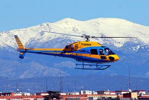Helicóptero DGT - multas